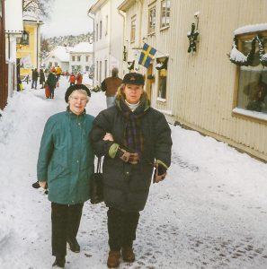Anett och Mamma